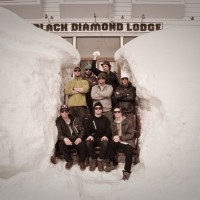 The MSP Crew at Black Diamond Lodge in Japan