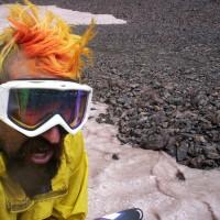 Jeremy Self-Portrait after Summer Skiing.