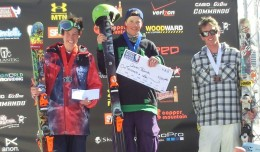 Aaron Blunck won the Open Class Halfpipe at USASA Nationals in Copper. Photo: USASA