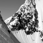 Mike Records enjoys some steeps, AK style