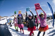 This year's Pond Skim got 10's across the board!