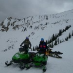 Rob and Sydney enjoying life in the Crested Butte backcountry