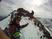 On top of McConkey's Face at La Parva, Chile.