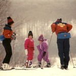 The Bembenek Family.  Both Ashley's parents were ski patrollers.