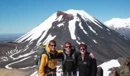 Volcano hiking mavens banner