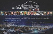 Crested Butte Songwriters Festival 2013