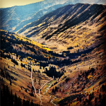 Here is a great photo looking down the Slate River Valley from Paradise Divide. Follow @dolly_molson on Instagram!