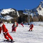 Santa Snowboards.