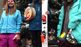Brittany Barefield, currently a junior at CBCS, on top of the podium at Aspen Highlands earlier this year. She was one of 2, -I repeat - girls on the freeride team in a ski town.