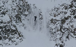 We think this is Colin Boyd sticking his shifty but not the landing. Photo: Eliza Cress