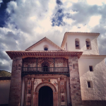 Inside is the Sistene Chapel of the Andes.