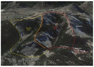 40 acres of sweet extreme terrain will open skier's right of the existing Teocalli Bowl.