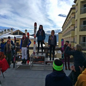 Brittany Barefield and Emma Patterson delivered the 1-2 punch in the 15-18 ski females.