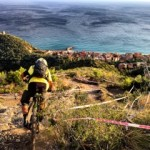 The men's downhill above Finale Ligure, one of the most iconic tracks in the Super Enduro and final round of the Enduro World Series. Loose AF.