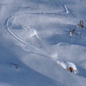 Skier: Rob Dickinson, Photo: Tom Runcie