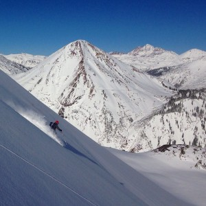 Skier: Zach Vaughter, Photo: Non-Native
