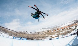 Halpipe finals 2016 U.S. Visa Freeskiing Grand Prix at Park City Photo: U.S. Freeskiing