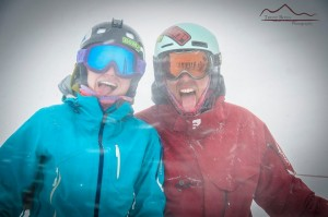 Mark and his fiancée, Ashley, in their element at Crested Butte.