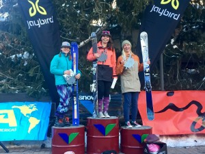 Avery Bernholtz topped the 12-14 girls podium with Charlie Ulrich of Taos in 2nd and Ella Haverkampf in 3rd.