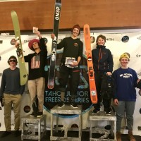 Jon Clay Patterson and Carson Hildebrandt 1-2 at the Squaw Valley National in 15-18 Ski Men